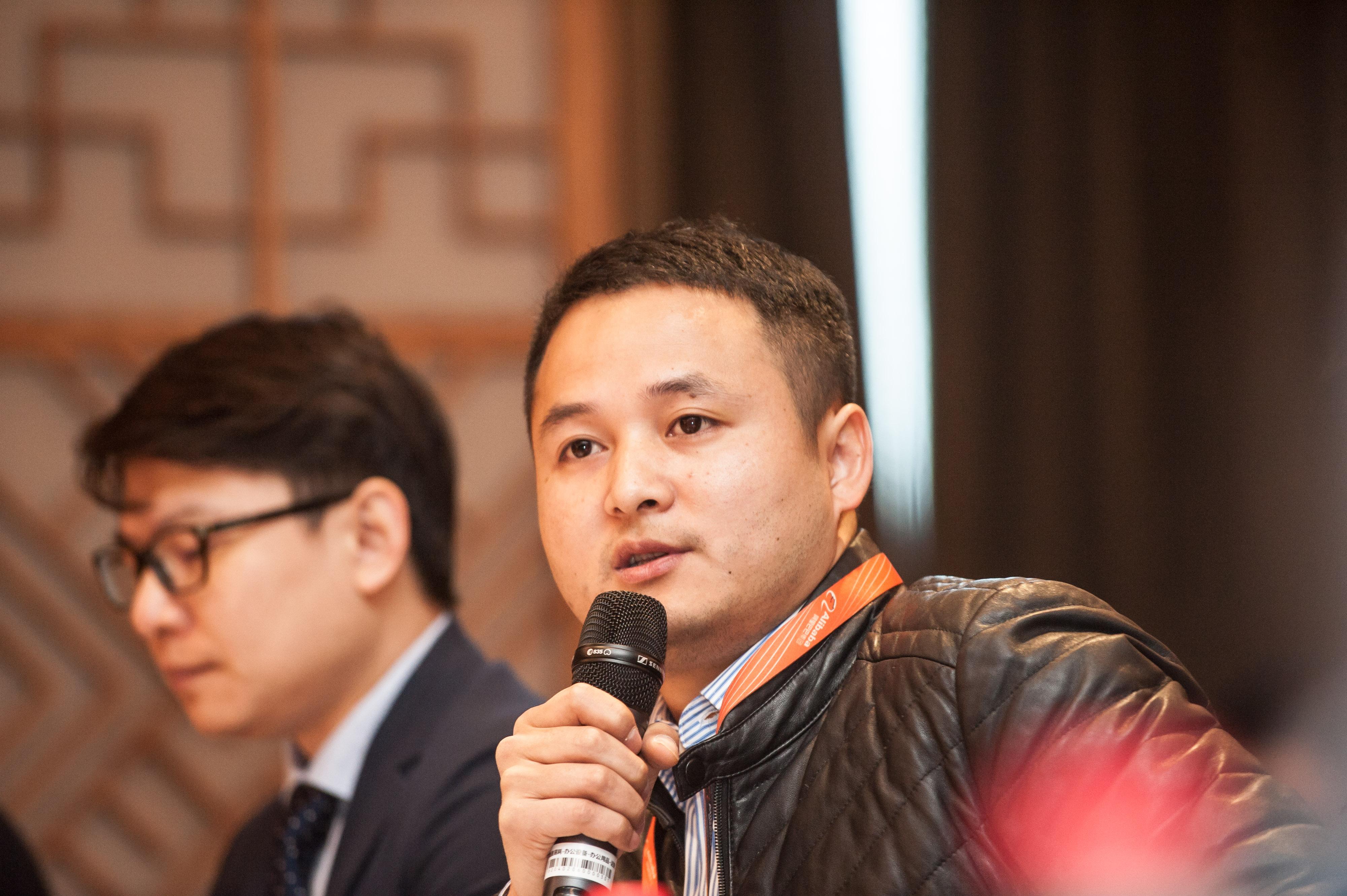 图说:阿里巴巴平台治理部知识产权保护总监叶智飞