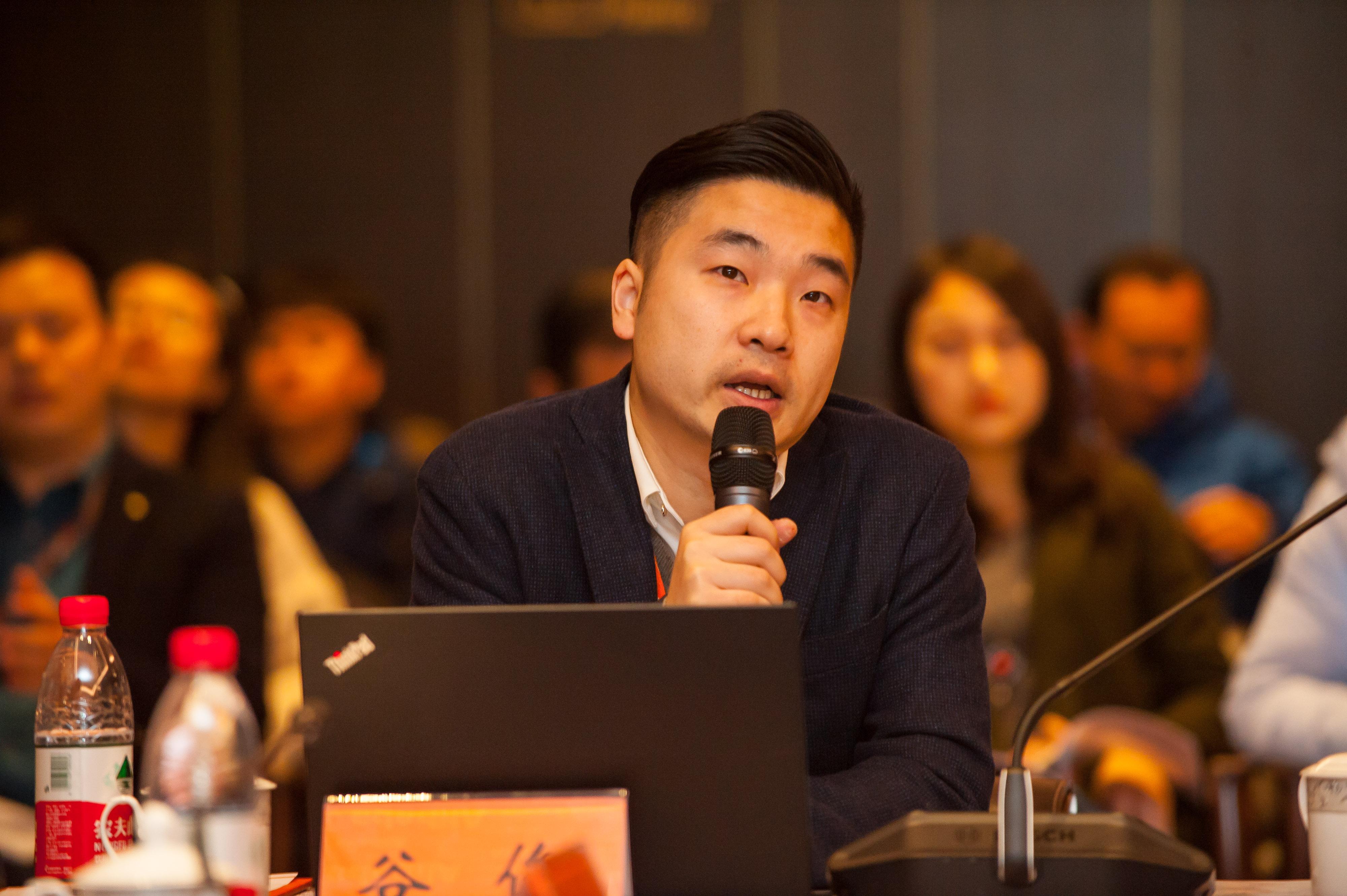 图说:阿里巴巴集团平台治理部资深经理谷俊
