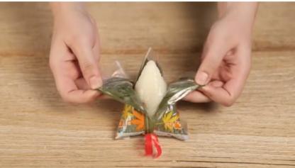 饭团包装的粽子