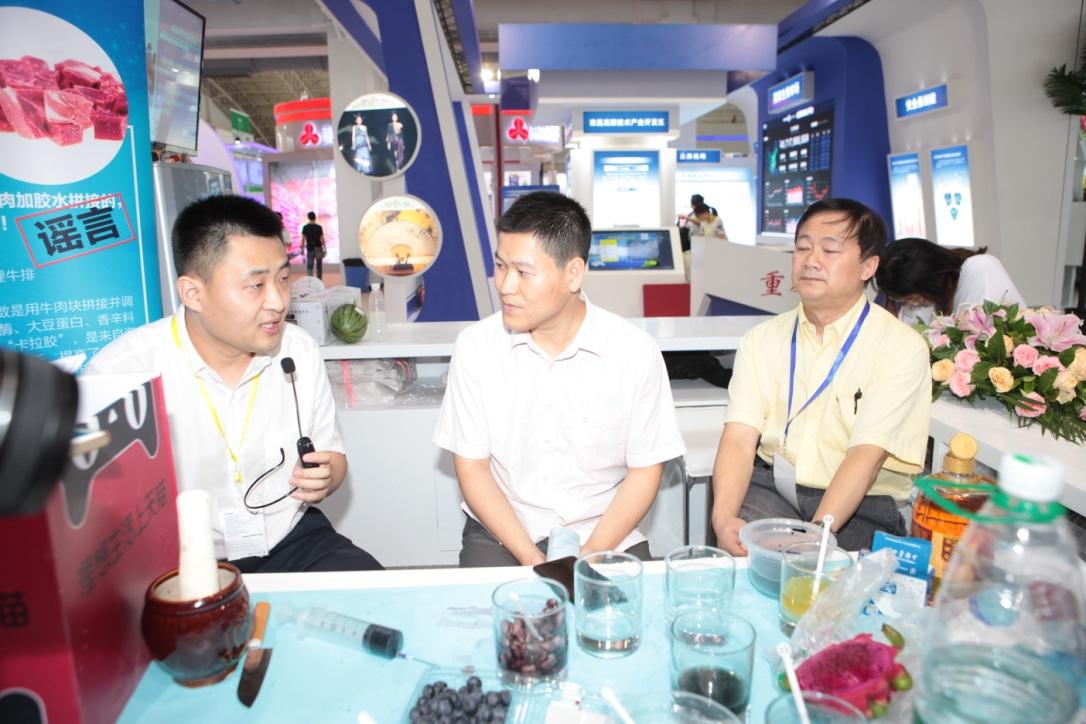 """图说1:中国工程院院士、天猫生鲜、养殖业者携手向食品谣言宣战  获食药总局局长点赞""""很有意义"""""""