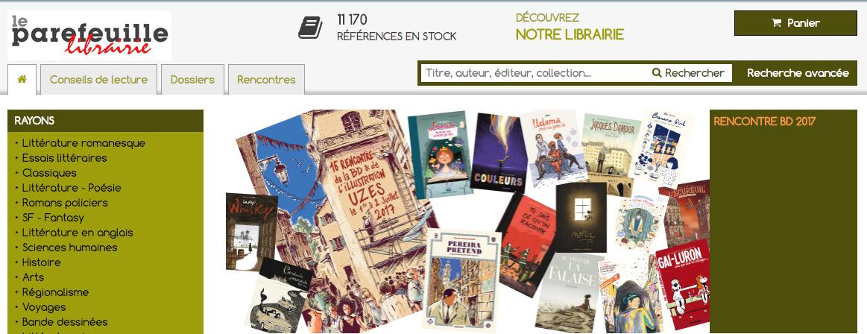 许多法国独立书店都建起了网站