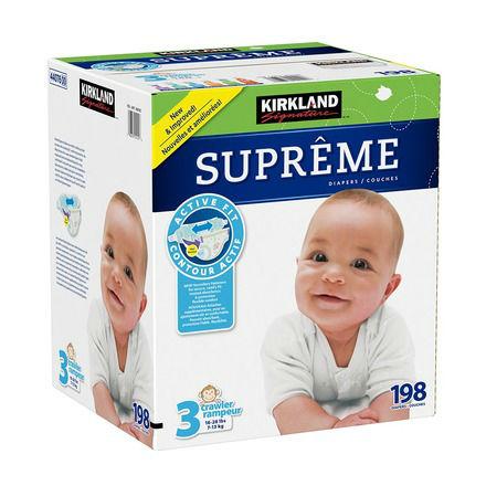 Kirkland婴儿纸尿布