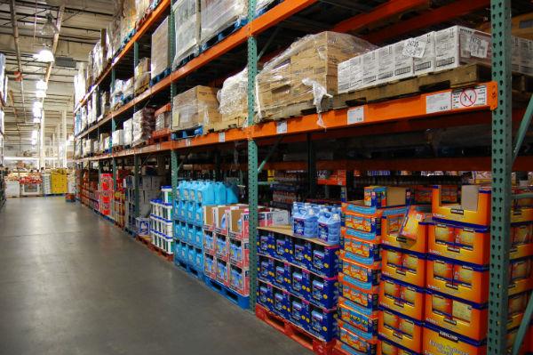 Costco超市的产品很多都是量贩装