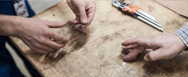 德国工厂制作刀片