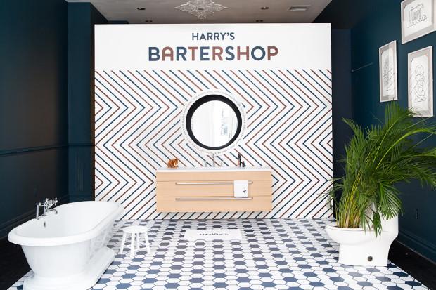 "Harry's ""以物换物""概念店的内部装潢"