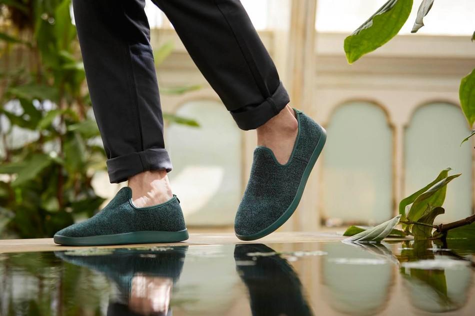 "Allbirds第二款鞋""Wool Loungers"""
