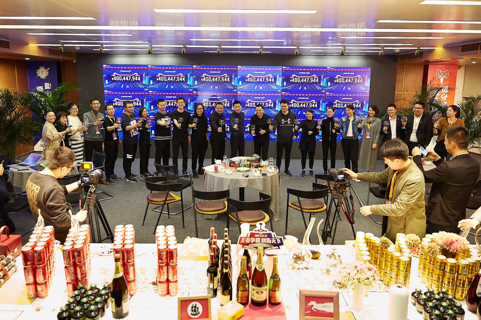 海澜之家天猫双11突破4亿,海澜之家总裁周立宸出席_meitu_8