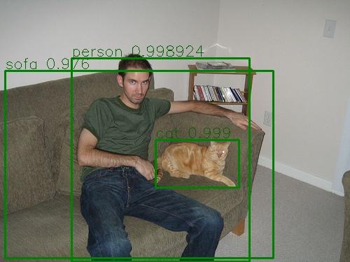 图说:VOC 2012数据集图片的测试结果-3
