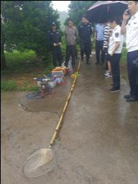 警方成功抓捕犯罪嫌疑人钱某某,并收缴电鱼工具