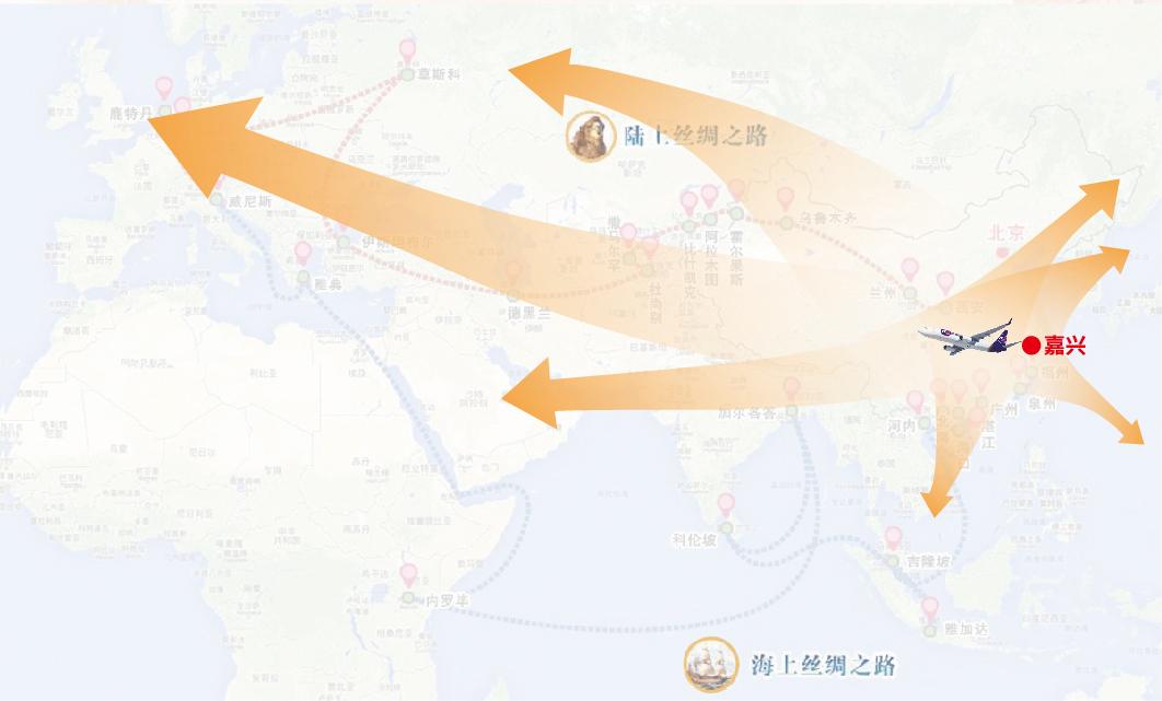 嘉兴机场三小时飞行圈能够全面覆盖长三角、珠三角、京津冀及成渝经济带等国内核心城市群_meitu_2