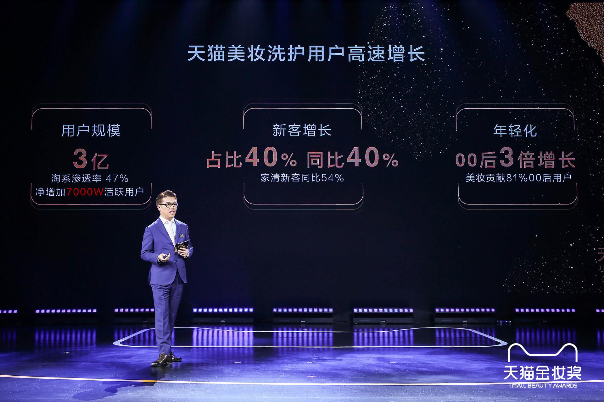 天猫快速消费品事业部总经理胡伟雄晒出天猫美妆洗护成绩单