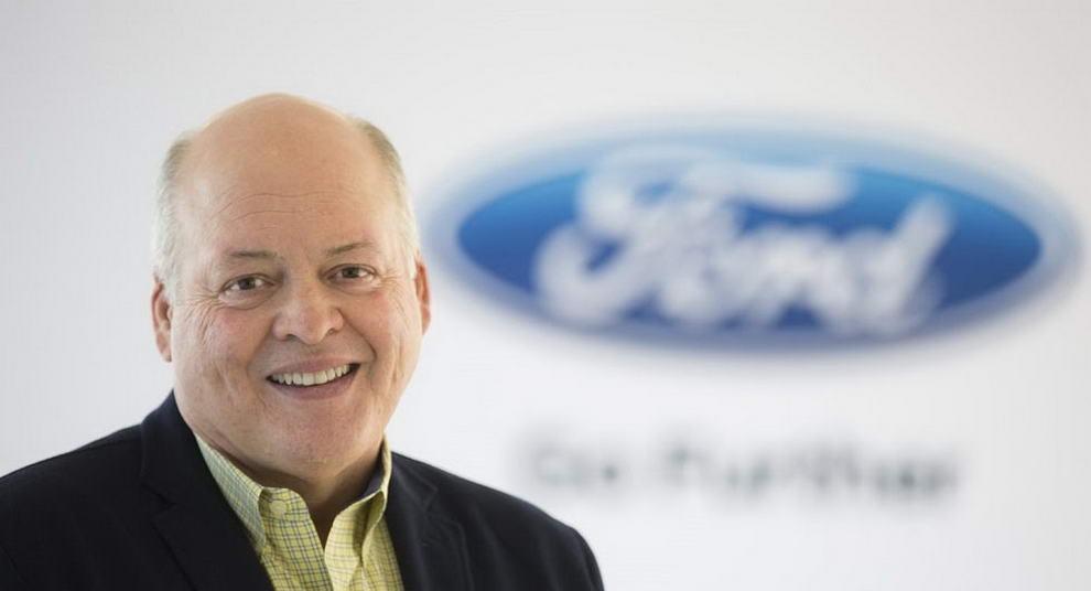 福特CEO Jim Hackett(图片来自progresoweekly)