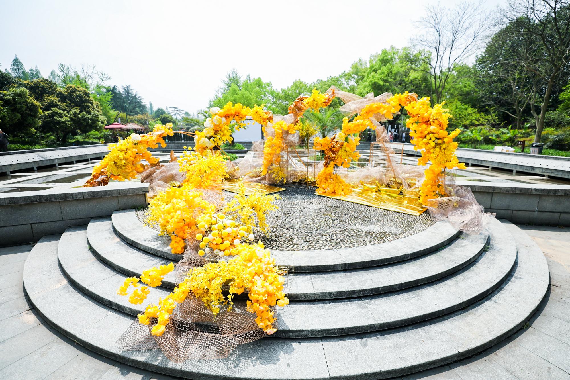 淘宝花园盛典上的创意花园